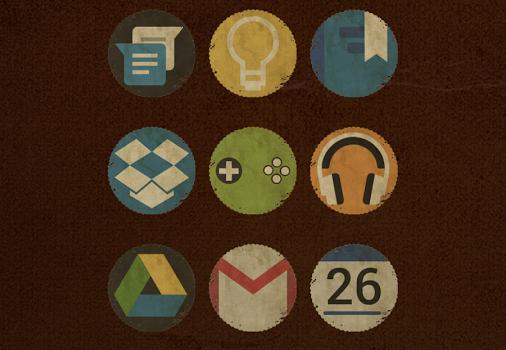 Vintage - Icon Pack Ekran Görüntüleri - 1