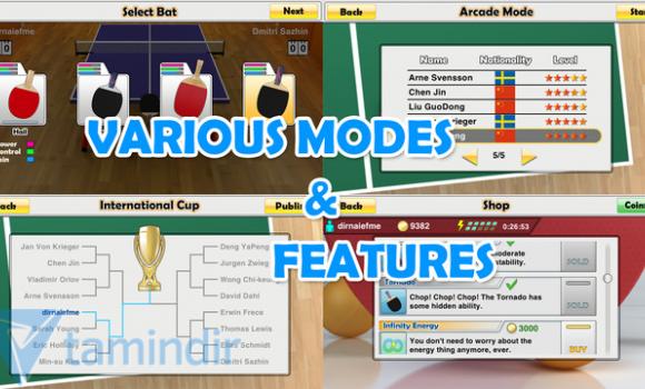 Virtual Table Tennis Ekran Görüntüleri - 1