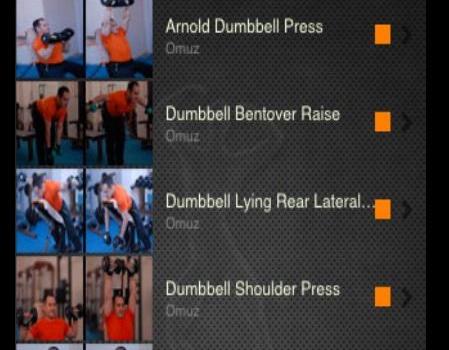 Vücut Geliştirme Rehberi Ekran Görüntüleri - 3