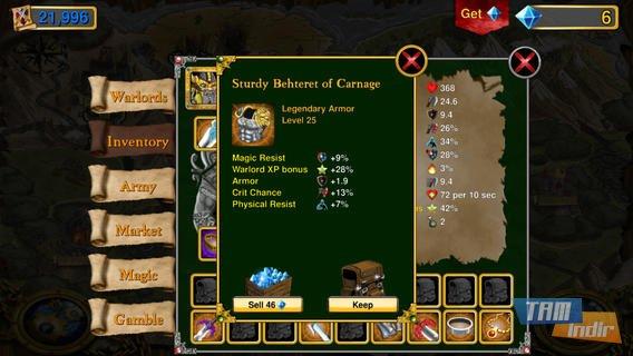 Warlords RTS: Strategy Game Ekran Görüntüleri - 1