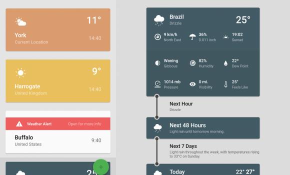 Weather Timeline Ekran Görüntüleri - 1