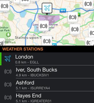 Weather Underground Ekran Görüntüleri - 1