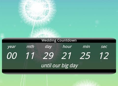Wedding Countdown Widget Ekran Görüntüleri - 3