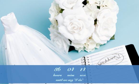 Wedding Countdown Widget Ekran Görüntüleri - 5