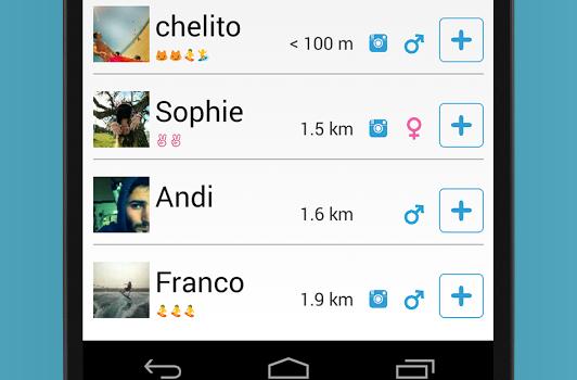 WhatsUp Nearby Ekran Görüntüleri - 3