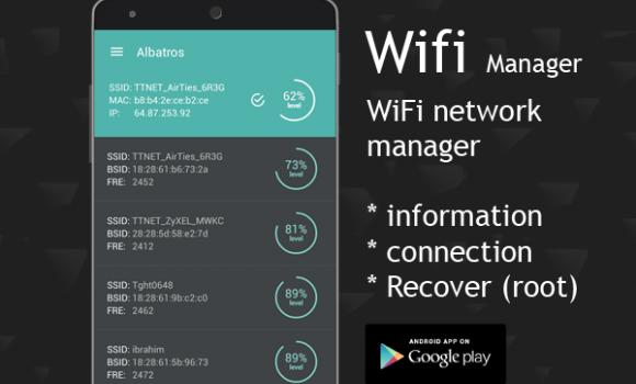 Wifi Manager Ekran Görüntüleri - 3