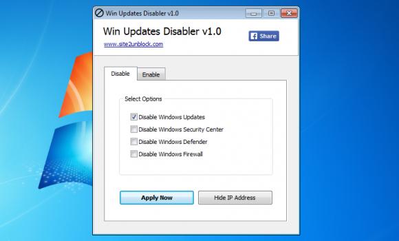 Win Updates Disabler Ekran Görüntüleri - 1