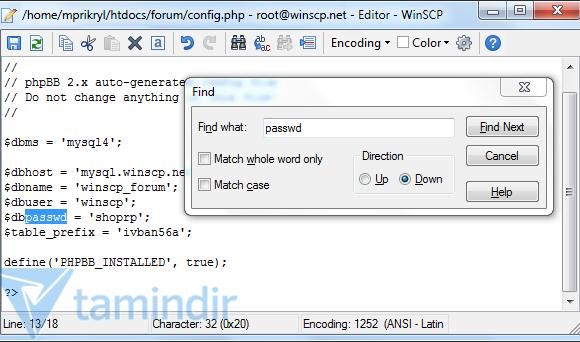 WinSCP Ekran Görüntüleri - 2