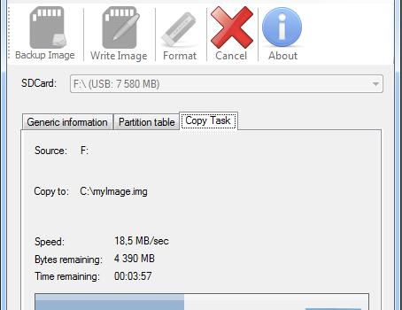 WinSDCard Ekran Görüntüleri - 1
