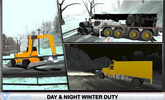 Winter Snow Plow Truck Driver Ekran Görüntüleri - 2