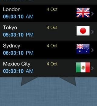 World Clock Ekran Görüntüleri - 4