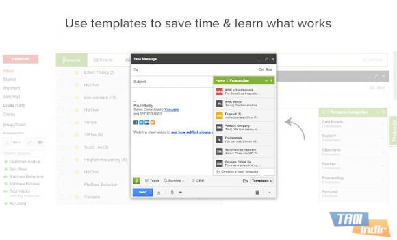 Yesware Email Tracking for Chrome Ekran Görüntüleri - 2