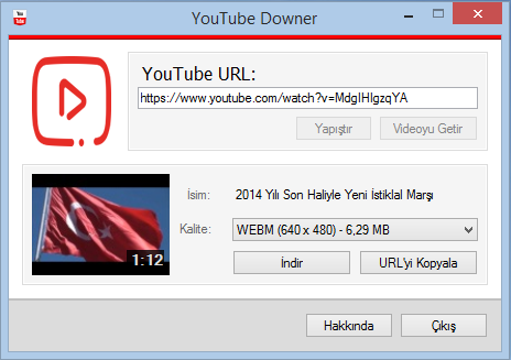 YouTube Downer Ekran Görüntüleri - 3