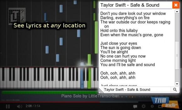 YouTube Lyrics Ekran Görüntüleri - 5