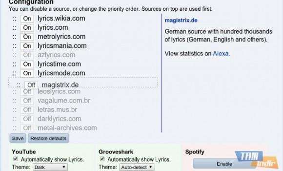 YouTube Lyrics Ekran Görüntüleri - 4