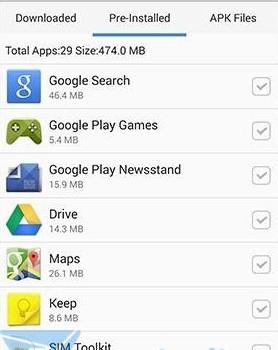 Tomi File Manager Ekran Görüntüleri - 2