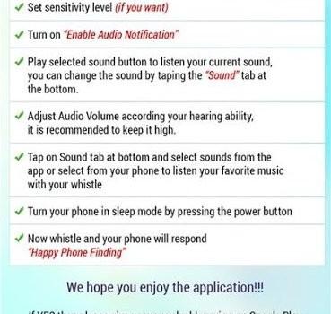 Whistle Phone Finder Ekran Görüntüleri - 1