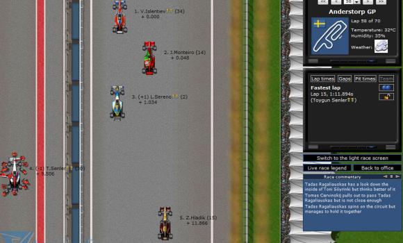 Grand Prix Racing Online Ekran Görüntüleri - 1