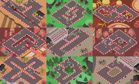 Triangle Face Fun Race Ekran Görüntüleri - 5