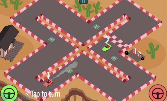 Triangle Face Fun Race Ekran Görüntüleri - 2