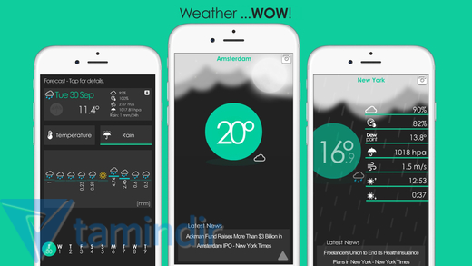 Weather ...WOW! Ekran Görüntüleri - 1