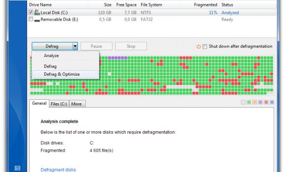 Auslogics Disk Defrag Ekran Görüntüleri - 3