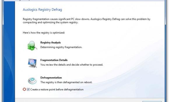 Auslogics Registry Defrag Ekran Görüntüleri - 3