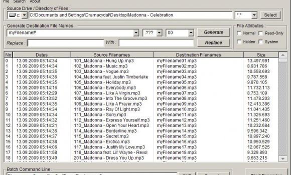Batch File Renamer Ekran Görüntüleri - 1