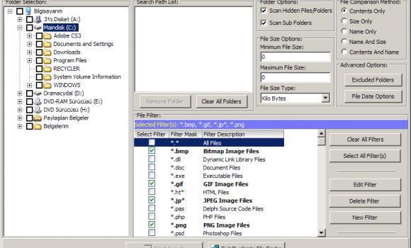 Duplicate File Finder Ekran Görüntüleri - 1