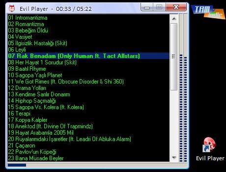 Evil Player Ekran Görüntüleri - 1