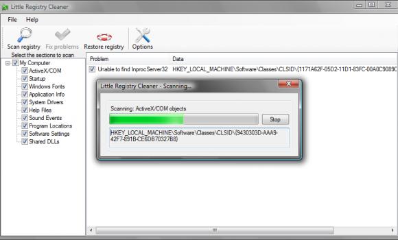 Little Registry Cleaner Ekran Görüntüleri - 2