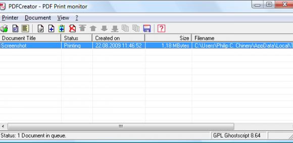 PDFCreator Ekran Görüntüleri - 3