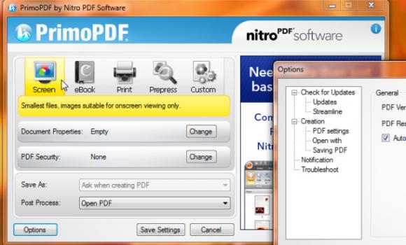 PrimoPDF Ekran Görüntüleri - 1