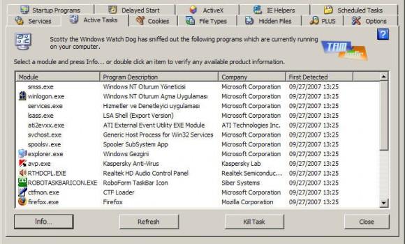 WinPatrol Ekran Görüntüleri - 2