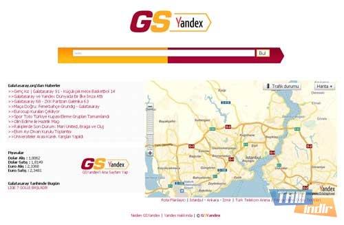 Yandex Browser Galatasaray Ekran Görüntüleri - 2