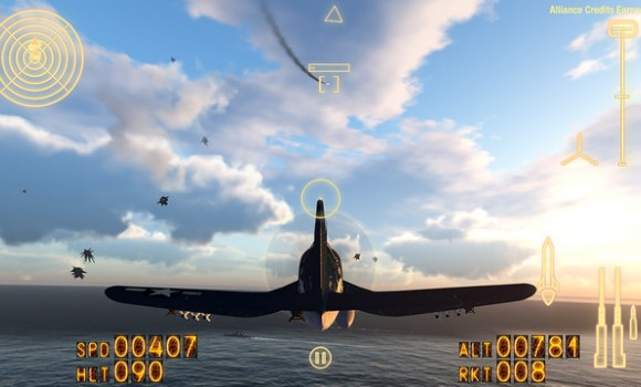 AllianceAirWar Ekran Görüntüleri - 1