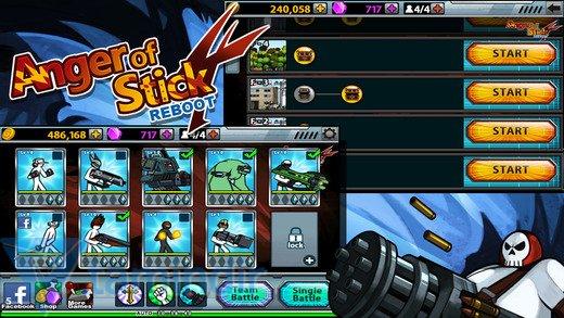 Anger Of Stick 4 Ekran Görüntüleri - 3