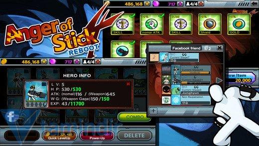 Anger Of Stick 4 Ekran Görüntüleri - 1