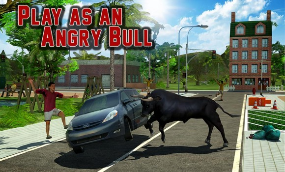 Angry Bull Revenge 3D Ekran Görüntüleri - 5