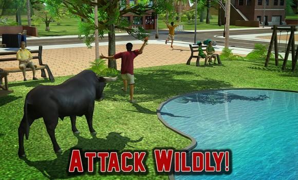 Angry Bull Revenge 3D Ekran Görüntüleri - 2