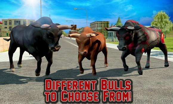 Angry Bull Revenge 3D Ekran Görüntüleri - 1