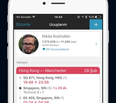 App in the Air Ekran Görüntüleri - 5