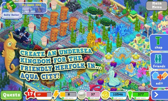 Aqua City: Fish Empires Ekran Görüntüleri - 4