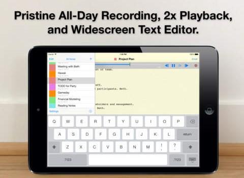 Audio Notebook Ekran Görüntüleri - 5