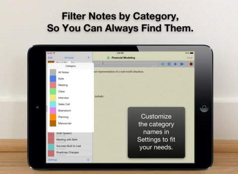 Audio Notebook Ekran Görüntüleri - 2