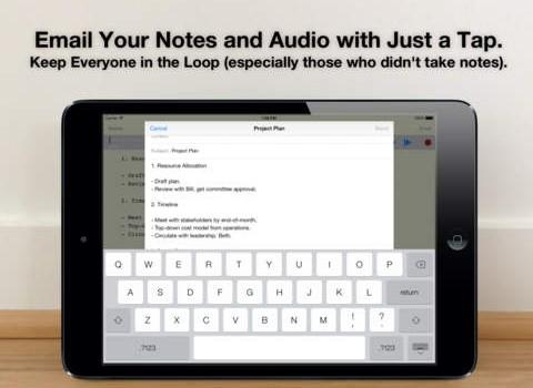 Audio Notebook Ekran Görüntüleri - 1