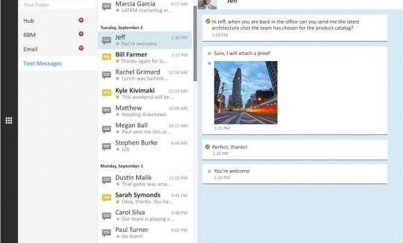 BlackBerry Blend Ekran Görüntüleri - 1