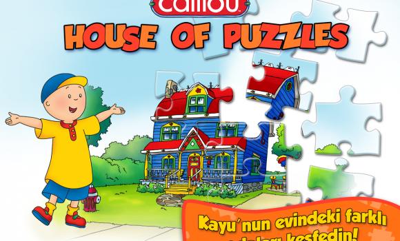 Caillou House of Puzzles Ekran Görüntüleri - 5