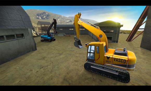 Construction Crane Hill Climb Ekran Görüntüleri - 2