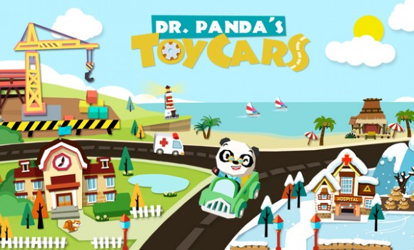 Dr. Panda is Toy Cars Ekran Görüntüleri - 5